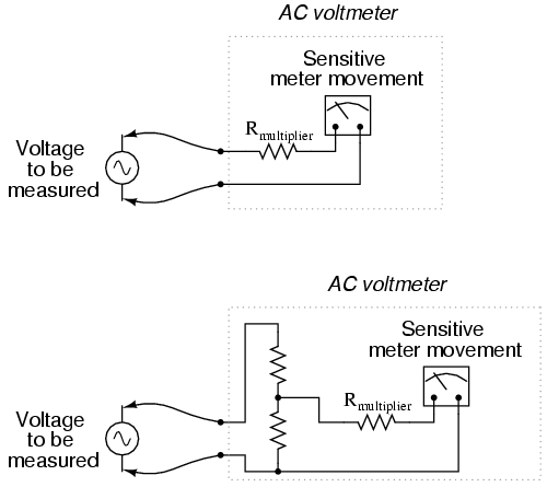 lessons in electric circuits volume ii (ac) chapter 12 Ac Voltmeter Wiring Diagram