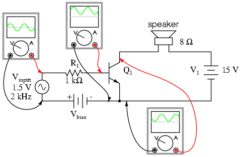 555 Timer 12v Power Inverter Circuit further Tda1308 Stereo Headphone  lifier Circuit also  furthermore Homemade plasma globe in addition TheTransistor lifier P2. on audio output circuit diagram