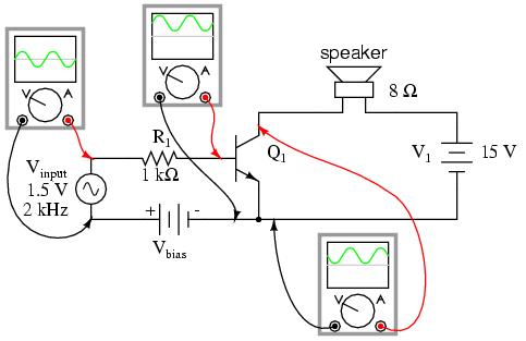 transistor amplifier circuit diagram – the wiring diagram, Circuit diagram