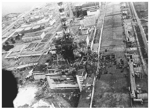 chernobyl disaster in ukraine in 1986. The goal of the. An aerial